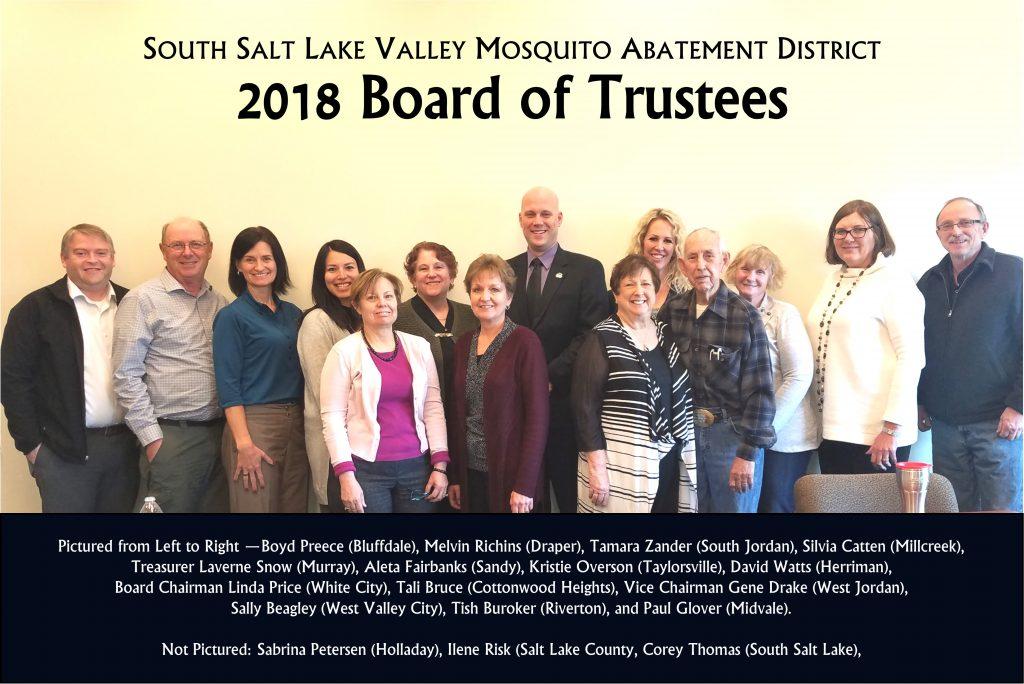 2018 Board Member Photo